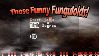 Funguloids menu screen