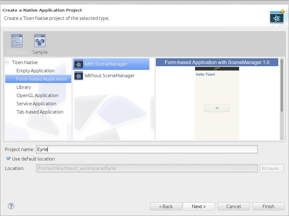 Native App Development With The Tizen 2 0 SDK - DZone Web Dev